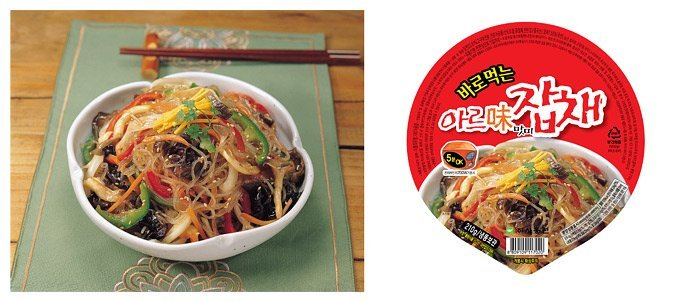 Instant noodle (Japche food)