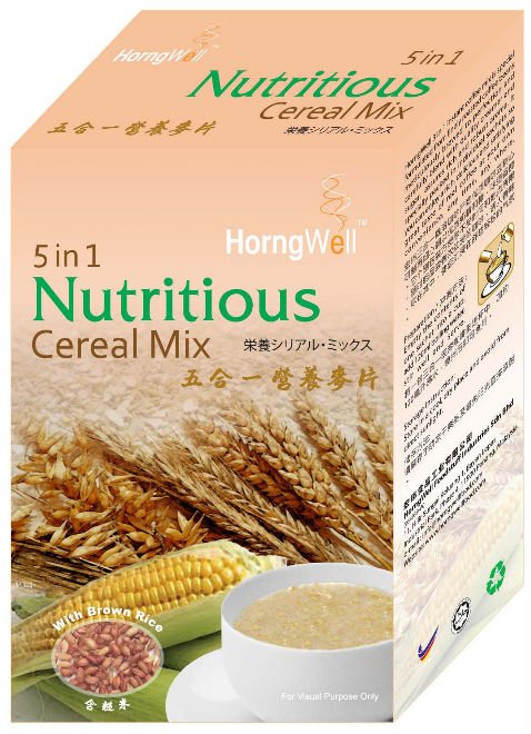 Horngwell 5 in 1 Instant Nutritious Cereal Mix