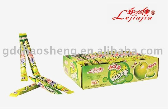 magic fruit lollipop without stick (apple flavor)
