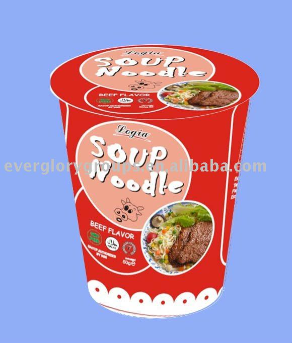 Instant noodle 50g in cup - beef flavor