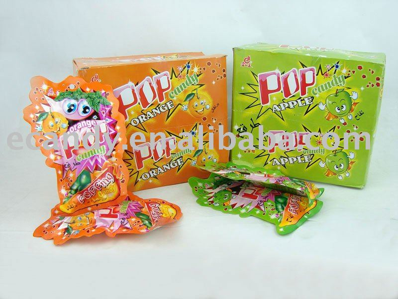 Lollipop with Popping Candy