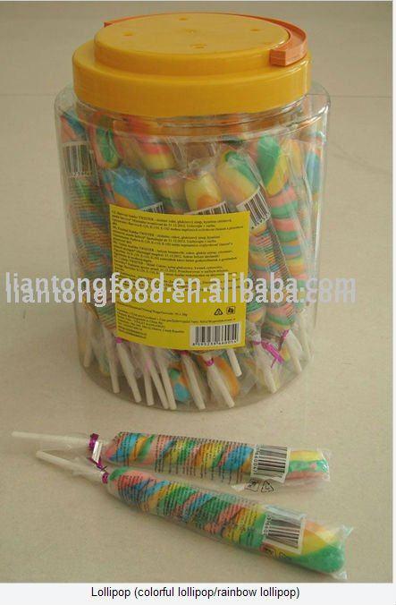 Colour lollipop