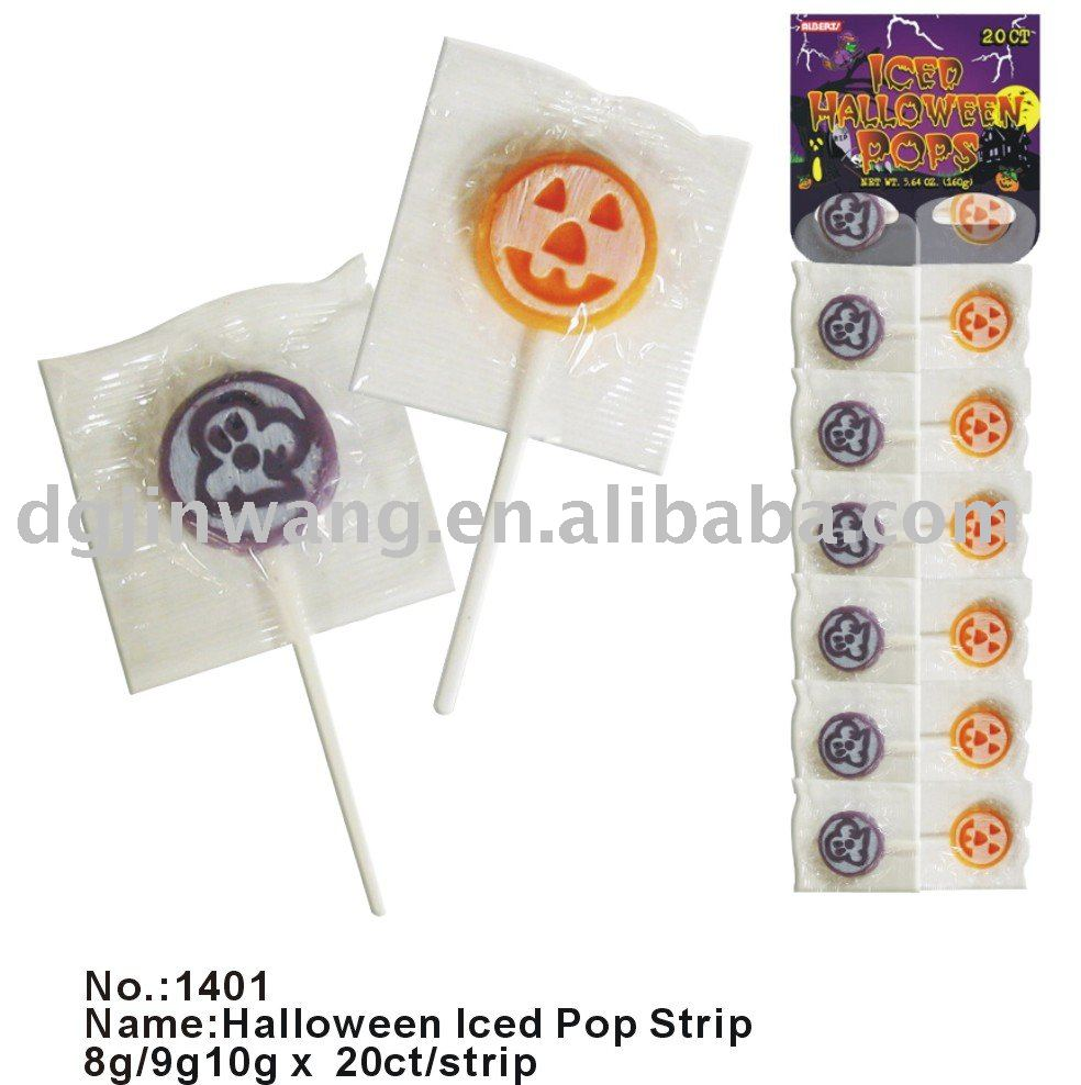Halloween iced lollipop