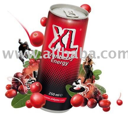 XL Cranberry Energy Drink