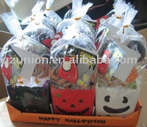 halloween hard lollipop with ceramic