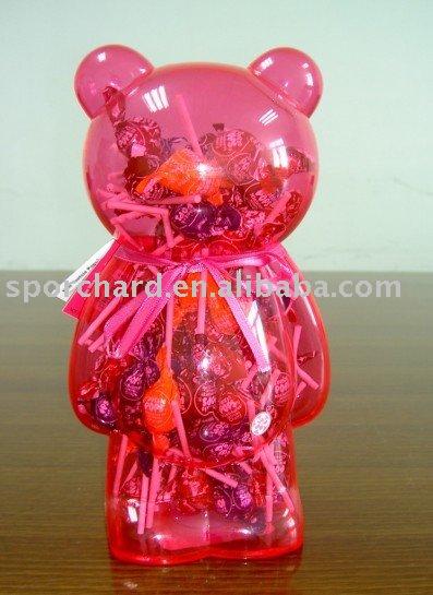 Bear Money Bank with Lollipops