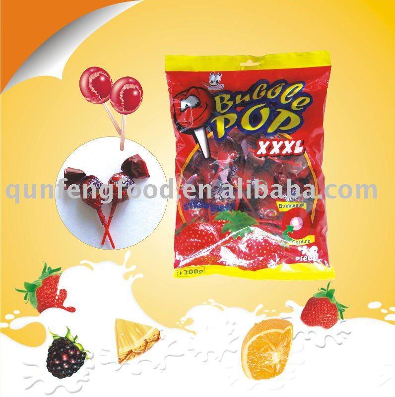 Bubble pop xxl gum lollipop products china bubble pop xxl for Cuisine xxl bubble