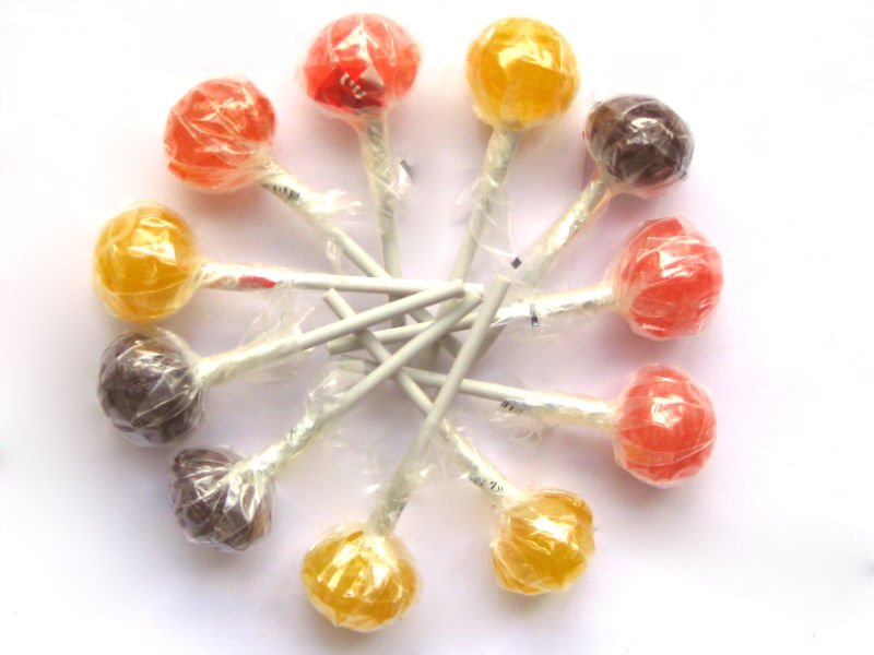 Lollipop (with clear wrapper)