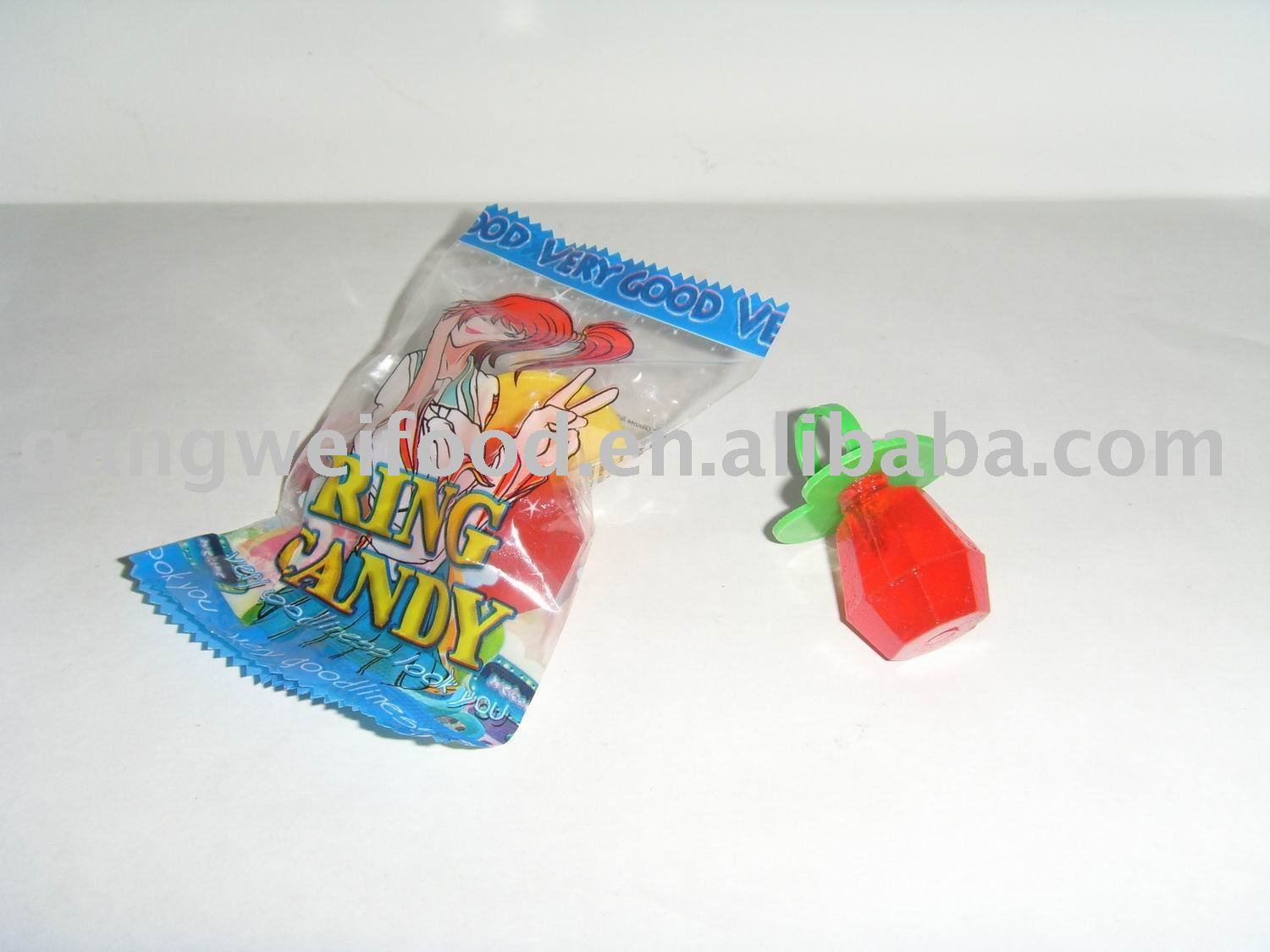 Diamond ring lollipop
