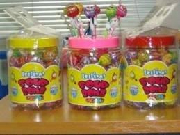 Lollipop - SOUR BOMB COLOR 660 g in JAR