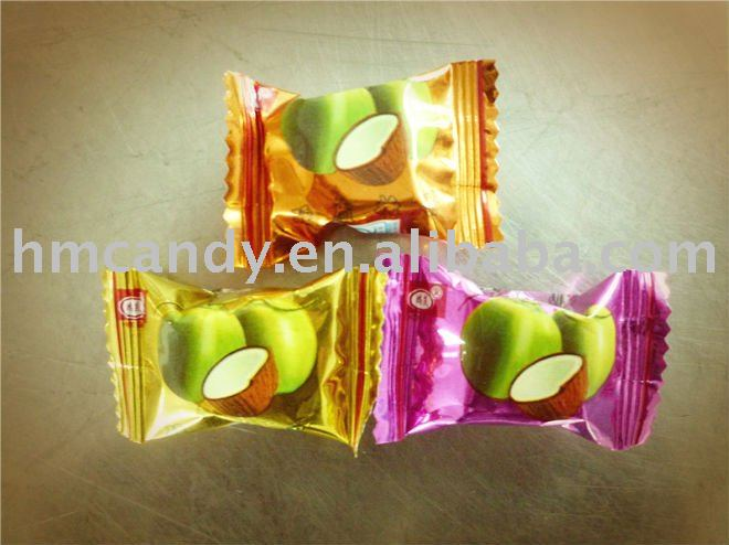 coconut fruit hard candy
