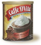 Caffe D'Vita Double Mocha Latte Blended Iced Coffee