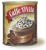 Caffe D'Vita Coffee Latte Blended Iced Coffee