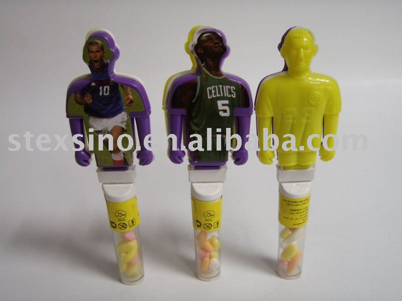 Body shape toy candy