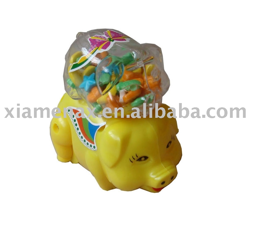 lucky  pig toy candy