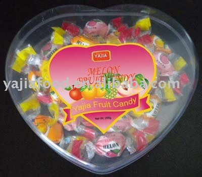 Melon fruit candy(heat box)