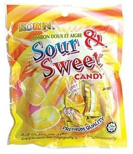 Sweet Sour Korin Quality Candy From Malaysia Pahang Darul Makmur