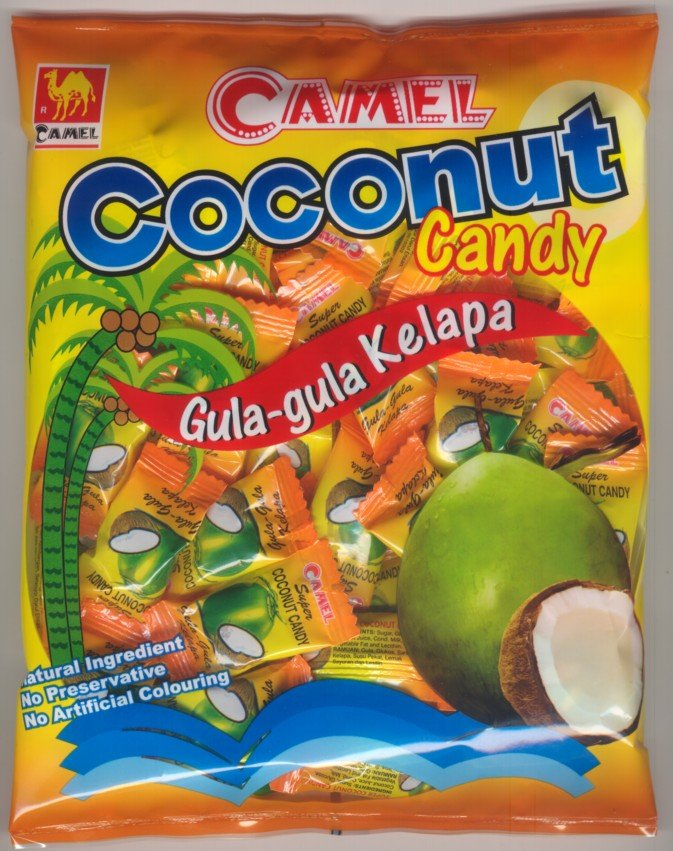 200G CAMEL COCONUT CANDY