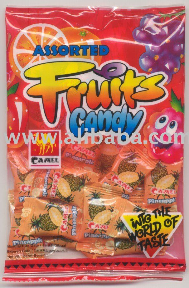 85G CAMEL PINEAPPLE FLAVOUR CANDY
