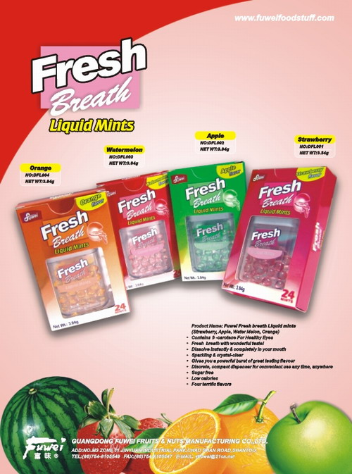 Fresh Breath big liquid mints