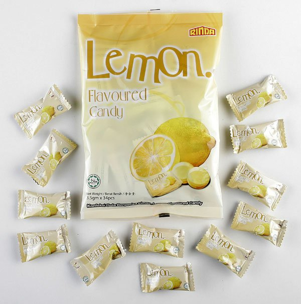 Lemon Flavoured Hard Candy