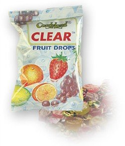 Hard boiled candies :     Clear Candy