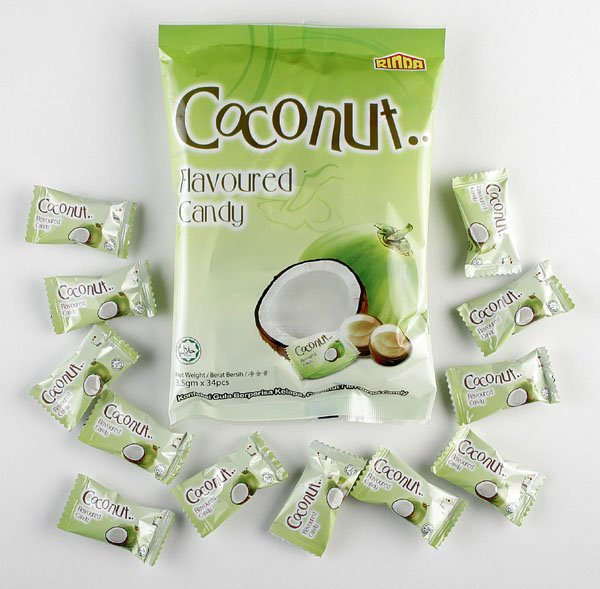 Coconut Flavoured Hard Candy