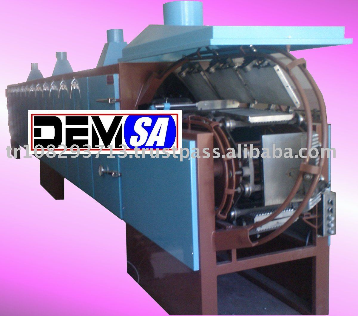 wafer production line-wafer machine-wafer oven-gofret makinesi