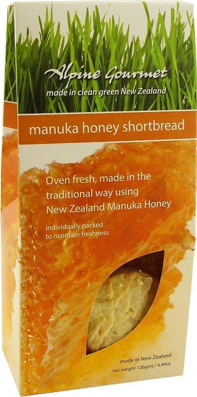 Manuka Honey Shortbread
