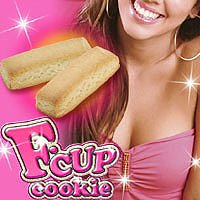 F CUP COOKIES