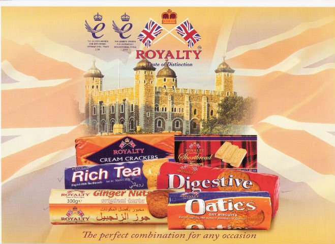 ROYALTY - DIGESTIVE BISCUIT