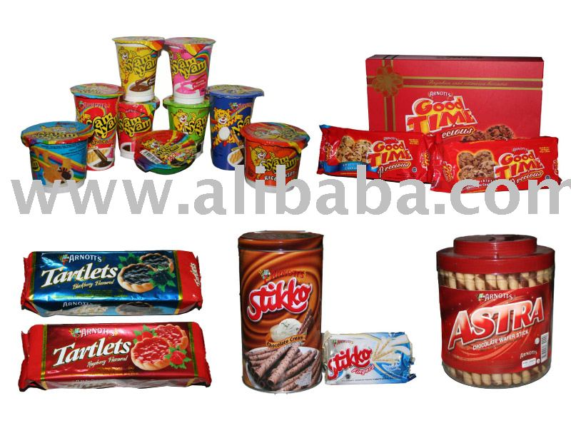 Arnotts Biscuit, Cookies, Snack & Wafer