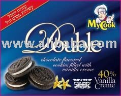 Double Chocolate Flavored Cookies Filled With Creme Vanilla