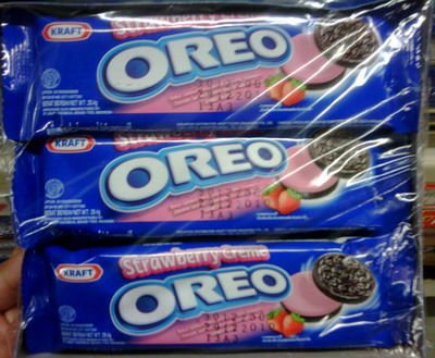 OREO STRAWBERRY, 137 GRM