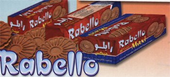 EL-Rabie-RABELLO: wafer filled with cream