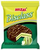 Hazal Bisclass Cocoa Coated Marshmallow Sandwich Biscuit