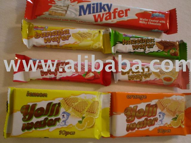 Yolli chocolate wafer