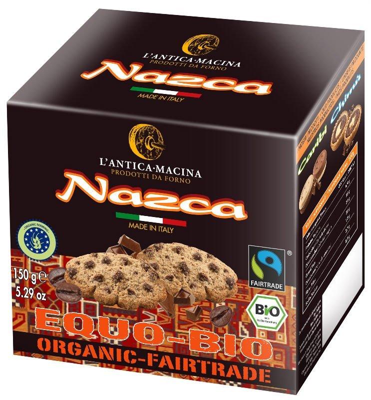 Cookies with chocolate chips and coffee powder (organic bakery, organic goods, organic food, organic