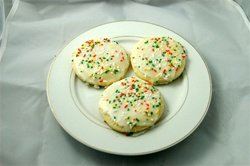 Dozen Sugar Cookies in a Gift box FREE SHIPPING