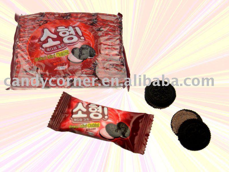 Biskut Mini Chocolate Cracker