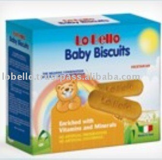 Italy LO BELLO Baby Biscuits Cookies