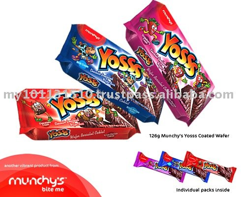 Munchy's Yosss Coated Wafer 126g