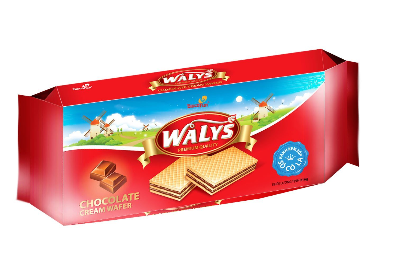 Waly's Cream Wafer