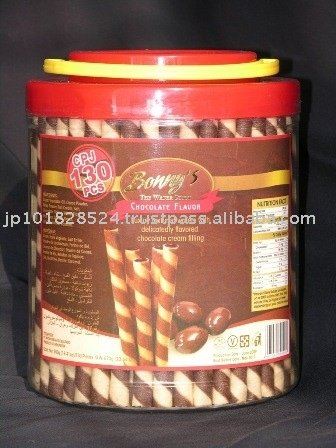 BONNY'S wafer chocolate roll stick