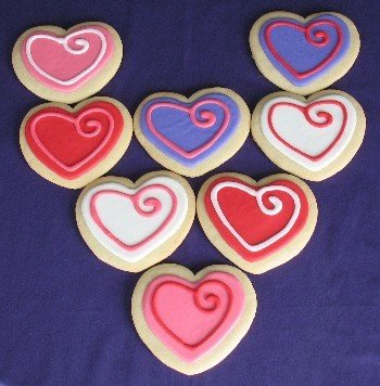 Iced Designer Sugar Cookies Products United States Iced Designer