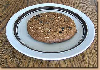 Vegan Spelt Cookie Date Nut Raisin
