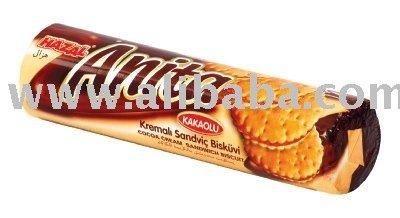 Hazal Anita Cocoa Cream Sandwich Biscuits