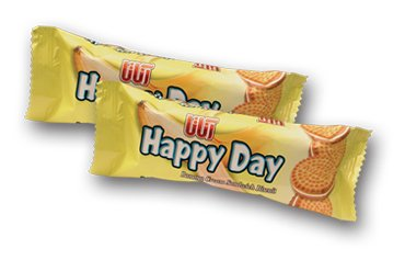 Happy Day Banana Biscuit