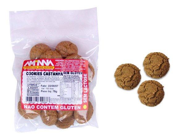 Cookies com Castanha
