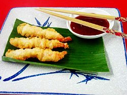 how to make tempura batter prawns